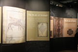 walls of space with illustrations and text