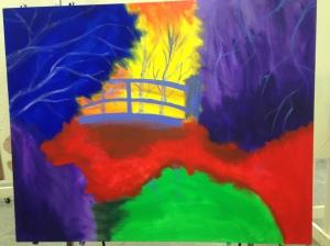 bridge painting undercoat