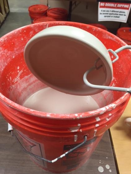 glazing a bowl