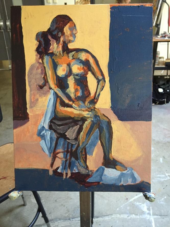 gesture, paint, color