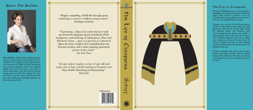Book Jacket Design for a Biography on Cleopatra