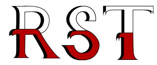 Drop Cap Design for Letters R, R & T