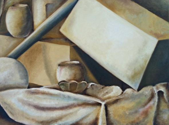 painting, still life, paint