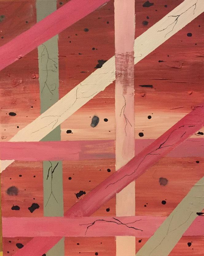 Red/Prink Painting