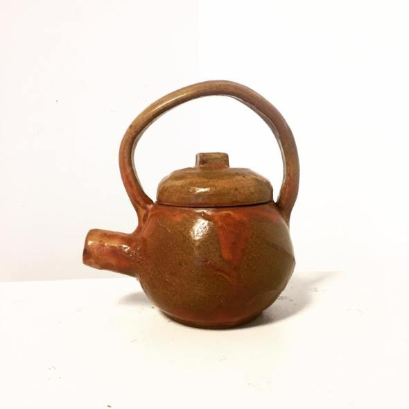 finished teapot