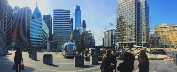 Philadelphia panorama view