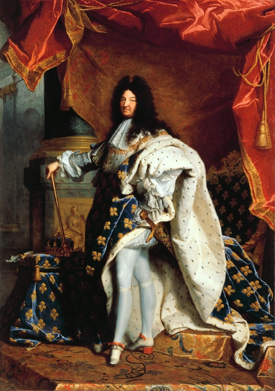 Painting of King Louis XIV