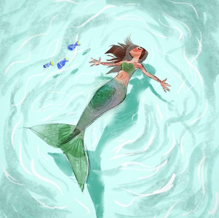 mermaid drawing final