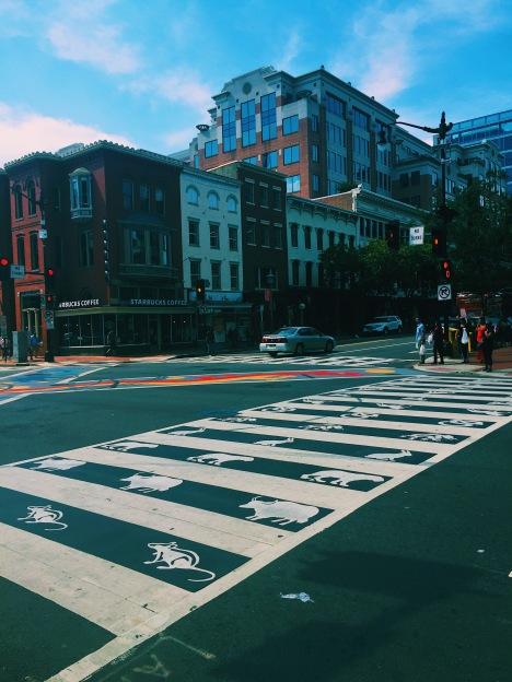 Chinatown street walkway