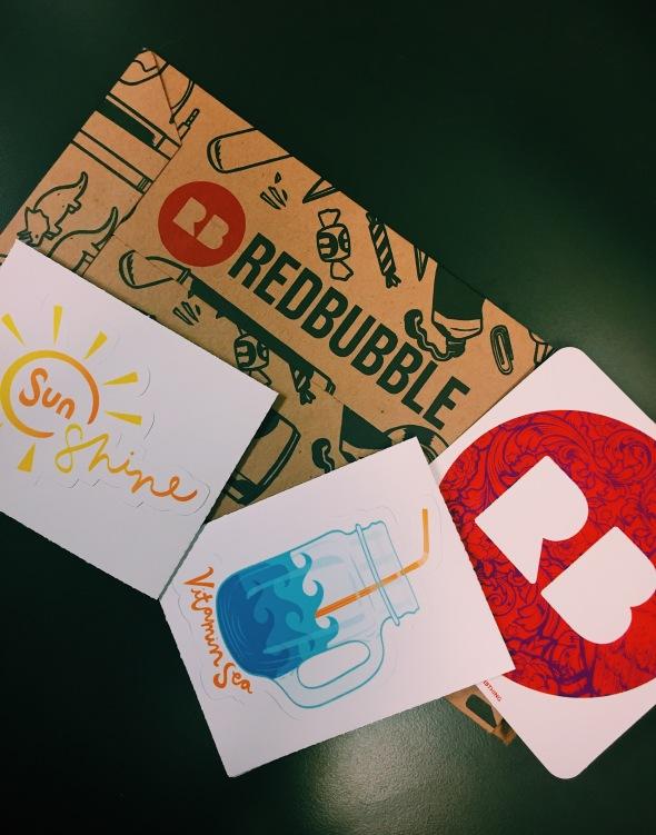 sunshine and vitamin sea sticker