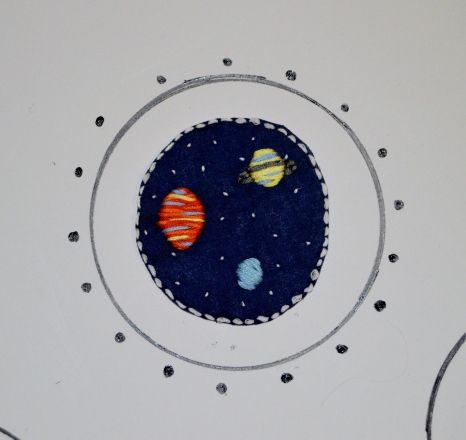 outer space planets patch