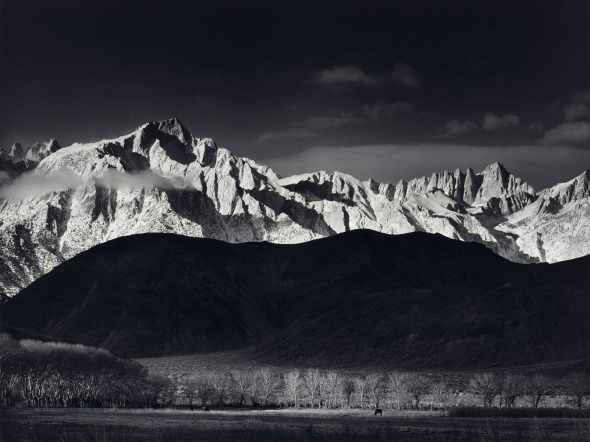 Winter Sunrise Ansel Adams