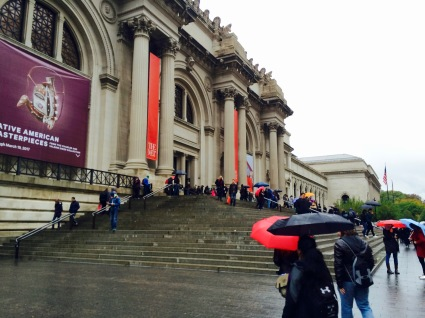 exterior picture of the Met Museum