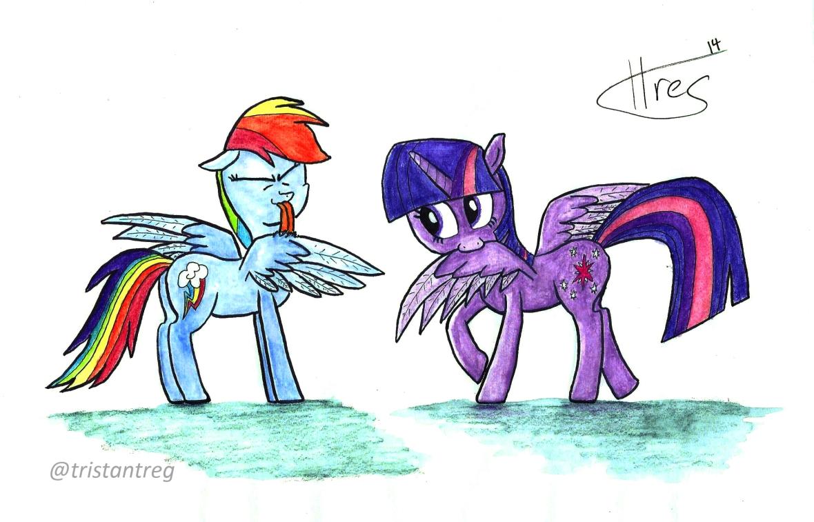 Preening Ponies