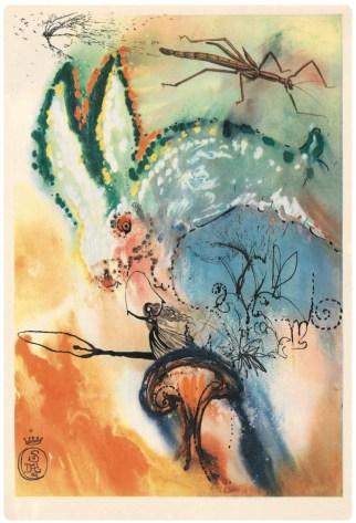 Salvador Dali, Down the Rabbit Hole