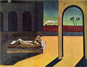 Giorgio de Chirico's paintings