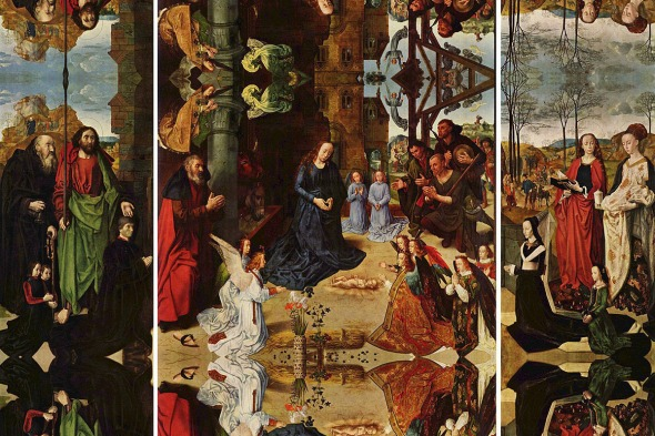 Hugo van der Goes, The Portinari Altarpiece, 1475