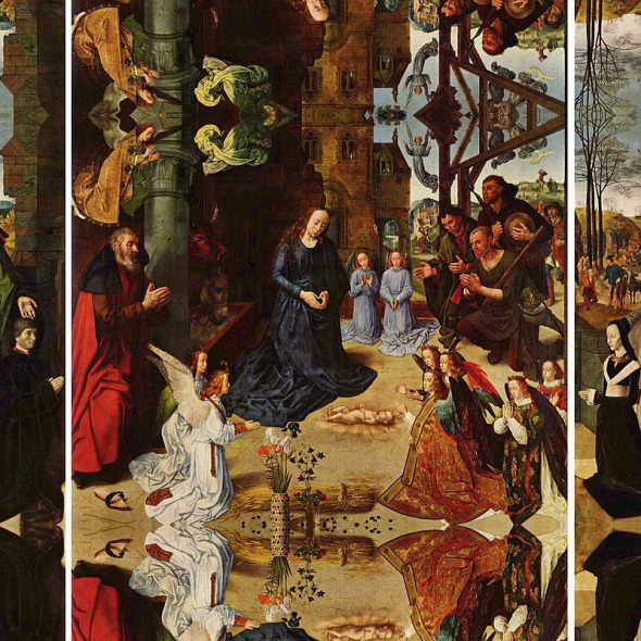 Hugo van der Goes, The Portinari Altarpiece, 1475