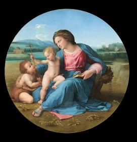 Raphael, Alba Madonna, 1510