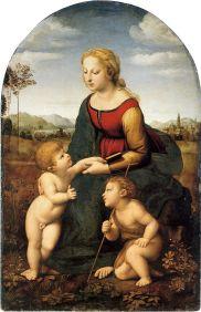 Raphael, La Belle Jardiniere, 1507