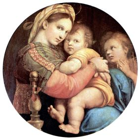 Raphael, Madonna della Seggiola, 1513-14