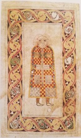 Book of Durrow- saint Mathews