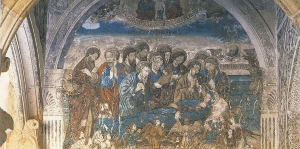 death and coronation of the virgin