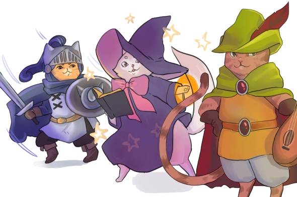 Featured image of the fantasy cats
