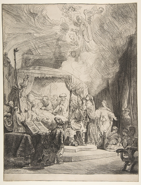 Rembrandt, The Death of the Virgin, 1639