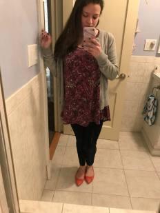 Purple School Outfit