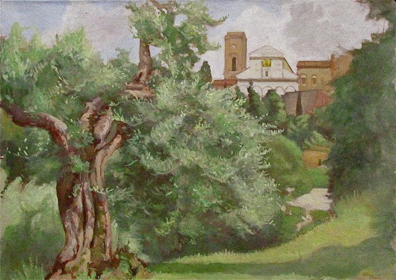 Olive Tree and San Miniato