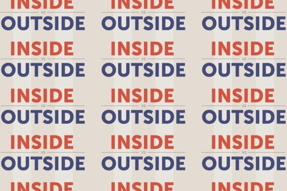 Inside vs Outside