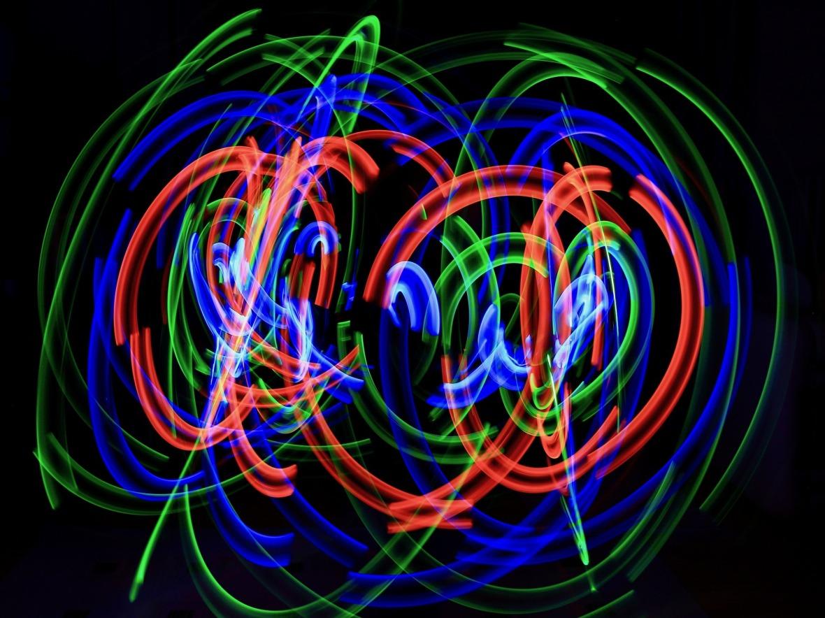 Light Painting- Pixabay