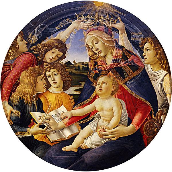 Botticelli, Madonna del Magnificant, 1482-1485