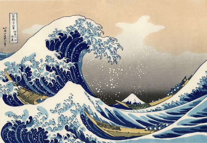 Katsushika Hokusai, The Great Wave off Kanagawa, 1829-1833