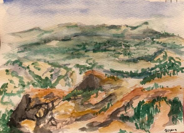 Watercolor Bryce