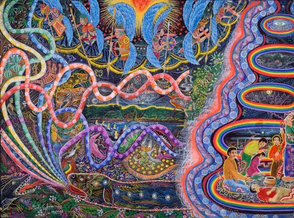 Pablo Amaringo: Waves of Ayahuasca