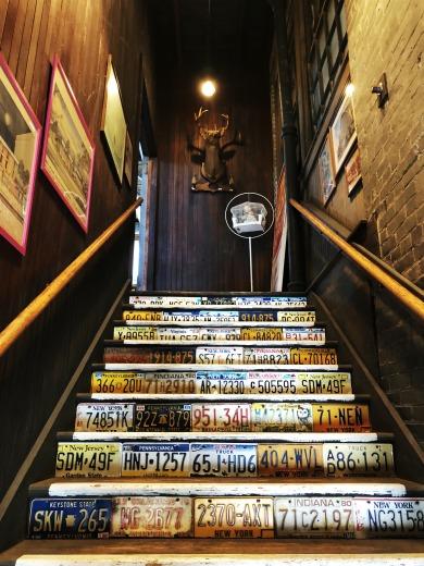 Sibio, Stairs