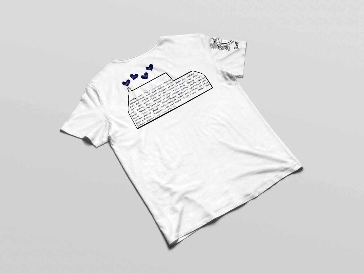 Back Mockup of T-Shirt