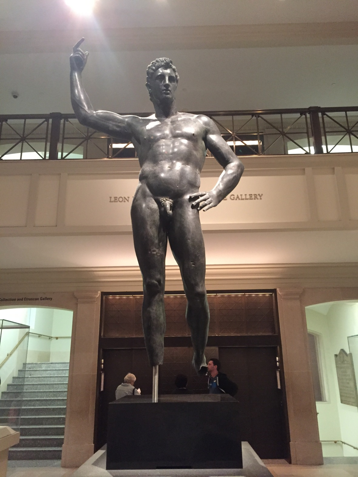 Bronze Statue of a man