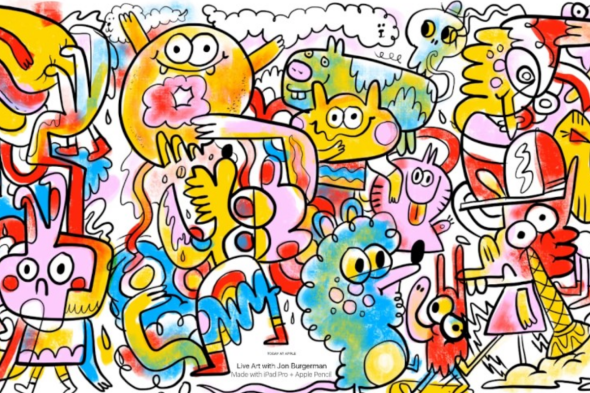 doodles by Jon Burgerman