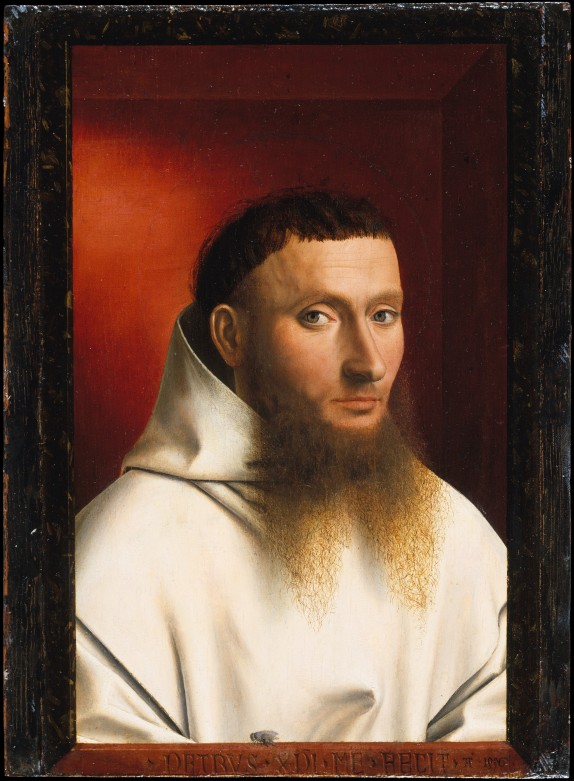 Petrus Christus, Portrait of a Carthusian, 1446