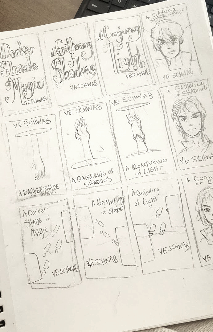 Thumbnails of my bookcovers