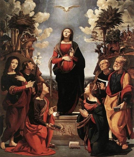 Piero di Cosimo, Immaculate Conception with Saints, 1485 - 1505