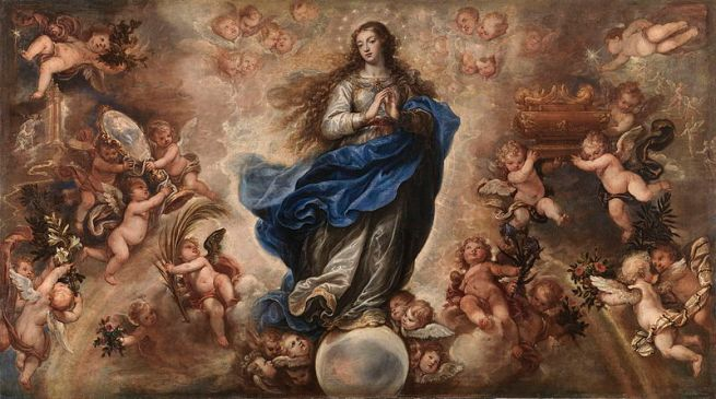 Francisco Rizi, Mary's Holy and Immaculate Conception, 17th century.