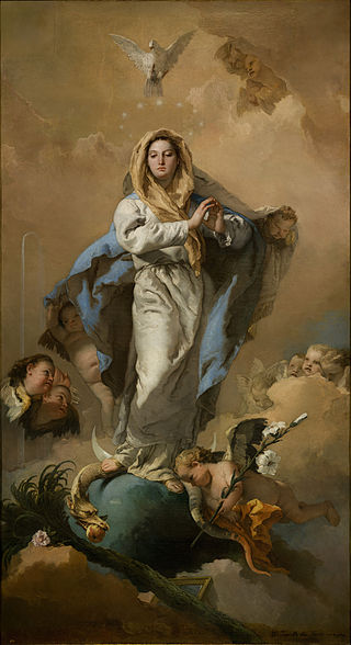 Giovanni Battista Tiepolo, Immaculate Conception, 1767-1768