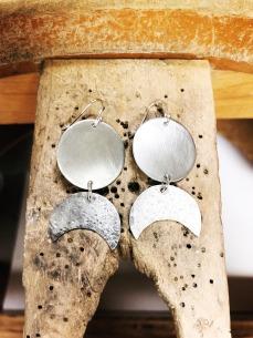 Sibio, Textured Earrings