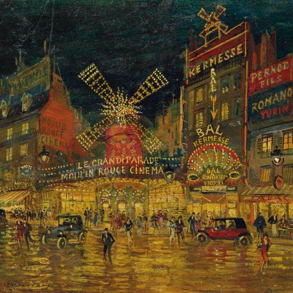 Konstantin Korovin, Moulin Rouge, Paris