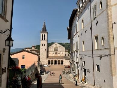 The Spoleto Duomo